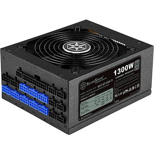 【送料無料】SilverStone SST-ST1300-TI モジュラー電源 1300W【在庫目安:お取り寄せ】