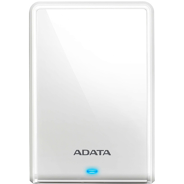 【送料無料】A-DATA Technology AHV620S-1TU31-CWH 外付けHDD HV620S 1TB ポータブル USB3.2 Gen1対応 ホワイト スリムタイプ / 3年保証【在庫目安:お取り寄せ】  パソコン周辺機器