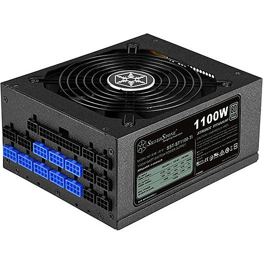 【送料無料】SilverStone SST-ST1100-TI モジュラー電源 1100W【在庫目安:お取り寄せ】