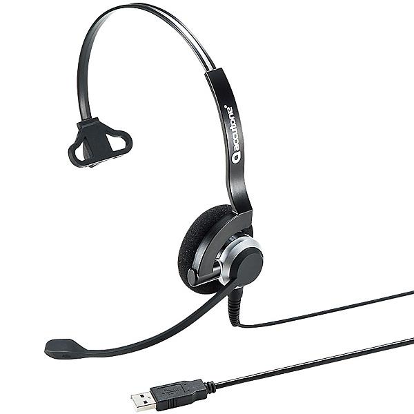 【送料無料】サンワサプライ MM-HSU07BK USBヘッドセット【在庫目安:お取り寄せ】| パソコン周辺機器 ヘッドセット ゲーミング ゲーム パソコン マイク PC 通話