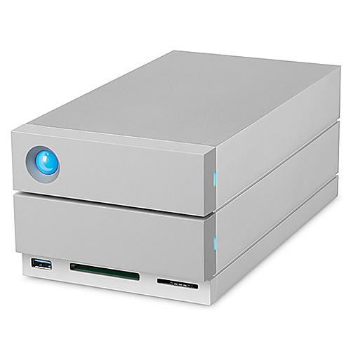 【送料無料】LaCie 2HE9P7 2big dock Thunderbolt3/ 8TB【在庫目安:お取り寄せ】| パソコン周辺機器 ディスクアレイ ディスク アレイ RAID HDD