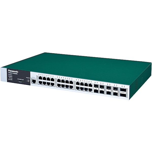 【送料無料】パナソニックLSネットワークス PN36241L 24ポート L3スイッチングハブ ZEQUO 4600RE【在庫目安:お取り寄せ】| パソコン周辺機器 スイッチングハブ L3スイッチ レイヤー3スイッチ スイッチ ハブ L3 ネットワーク PC パソコン