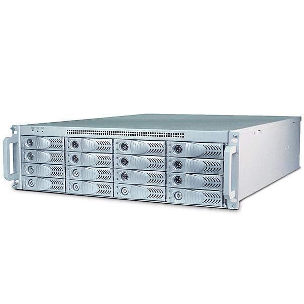 【送料無料】キングテック NetStor NA333TB3 3U 16bay Thunderbolt3 JBOD PCIe expansion付 500W redundnat PSU Thunderbolt 2M cable 1本添付【在庫目安:お取り寄せ】