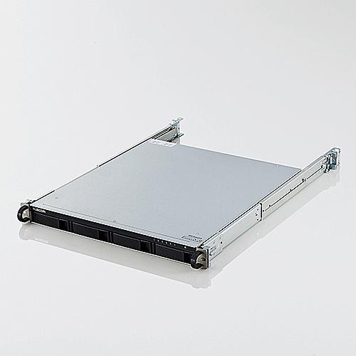 【送料無料】ELECOM NSB-7A8T4RL LinuxNAS/ 1U4Bay/ 8TB/ NetStor7シリーズ【在庫目安:お取り寄せ】| パソコン周辺機器 ラックマウント ラック マウント NAS