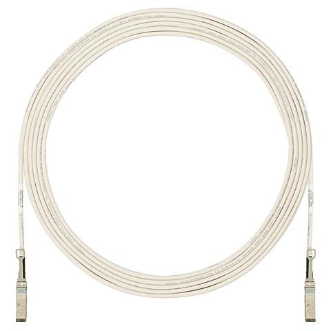【送料無料】パンドウイットコーポレーション PSF1AXD7MWH SFP+ダイレクトアタッチカッパー(DAC) ケーブル(アクティブ・白・7m)【在庫目安:お取り寄せ】| パソコン周辺機器 光ファイバケーブル