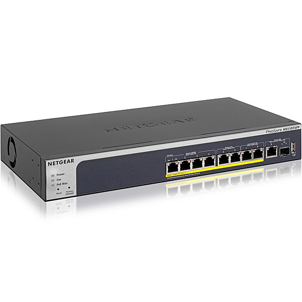 【送料無料】NETGEAR MS510TXPP-100AJS MS510TXPP 10Gアップリンク PoE+対応(180W)マルチギガ L2+スマートスイッチ【在庫目安:僅少】