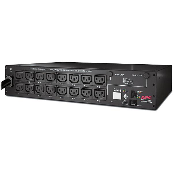 【送料無料】APC AP7911B5W Rack PDU Switched 2U 30A 200V (16) C13 5年保証【在庫目安:お取り寄せ】| 電源タップ サーバー用電源タップ サーバー 電源コード タップ 電源 コンセント コード