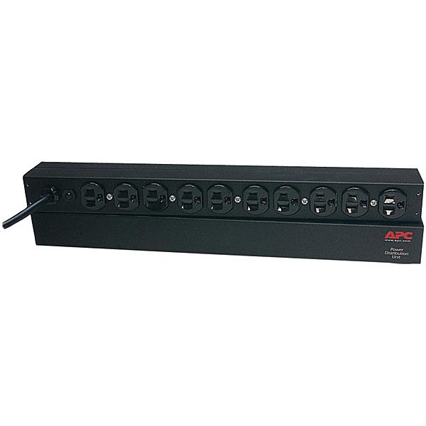 【送料無料】APC AP95625W Rack PDU Basic 1U 15A 100V (10) 5-15R 5年保証【在庫目安:お取り寄せ】| 電源タップ サーバー用電源タップ サーバー 電源コード タップ 電源 コンセント コード
