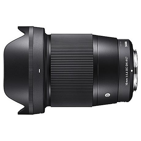SE カメラ 16/1.4DC 交換 ソニーEマウント用【在庫目安:お取り寄せ】| (C) DC DN ボケ 単焦点 F1.4 【送料無料】SIGMA 交換レンズ DN レンズ マウント 16mm 単焦点レンズ