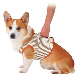 『500円クーポン配布中』PETIO 老犬介護用 補助機能付ベスト L ○