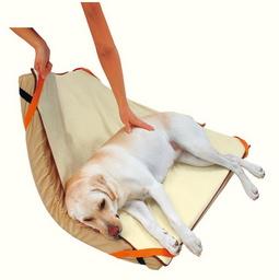 PETIO 老犬介護用 床ずれ予防ベッド 大型犬用 ○