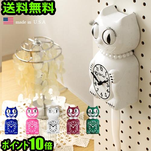 目としっぽが振り子になった ビンテージ NEW ARRIVAL なネコ 時計 壁掛け クロック ねこ 猫 ネコ 雑貨 アナログ振り子 アンティーク アメリカン バックトゥザフューチャー \MAX36.5倍 LIMITED smtb-F 送料無料 購買 キャット 壁掛け時計 Klock キット リミテッド ポイント10倍Kit-Cat ウォールクロック あす楽14時まで エディション 振り子時計 EDITION