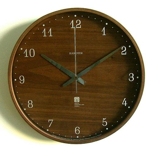\MAX46倍★お買い物マラソン期間中/【送料無料】【あす楽14時まで】 Brownie clock ブラウニー クロック [L]電波時計 《PC07-4L》【smtb-F】電波時計 時計 壁掛け 電波 おしゃれ 壁掛け時計 ウッド ナチュラル シンプル