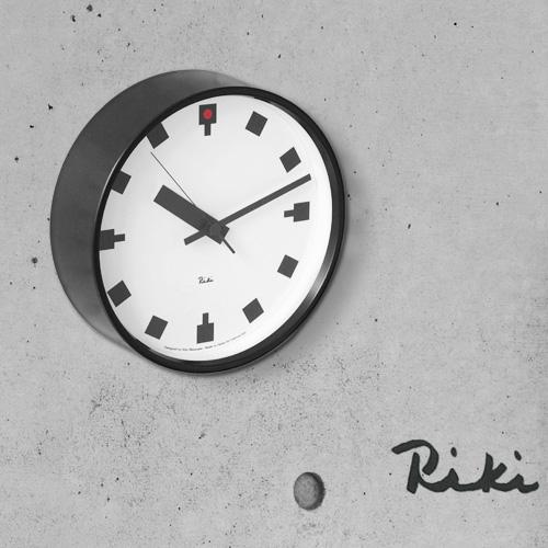 【あす楽14時まで】 送料無料 [ 時計 壁掛け 掛け時計 ] riki watanabe 日比谷の時計 WR12-04 lemnos レムノス 時計 掛け時計 おしゃれ 連続秒針 音がしない riki clock 【smtb-F】◇(-)(オシャレ雑貨/かわいい 壁掛け時計) 掛け時計 デザイン plywood