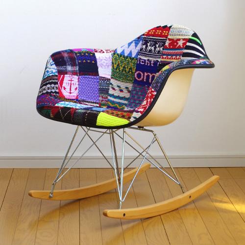 【受注生産】 送料無料 Desertic × Case Study Shop ダブルネーム knit arm chair ニット アーム チェア 【smtb-F】 eames chair イームズ シェルチェア ハーマンミラー デザイナーズチェア◇ヴィンテージ Desertic モダニカ 新生活 デザイン plywood