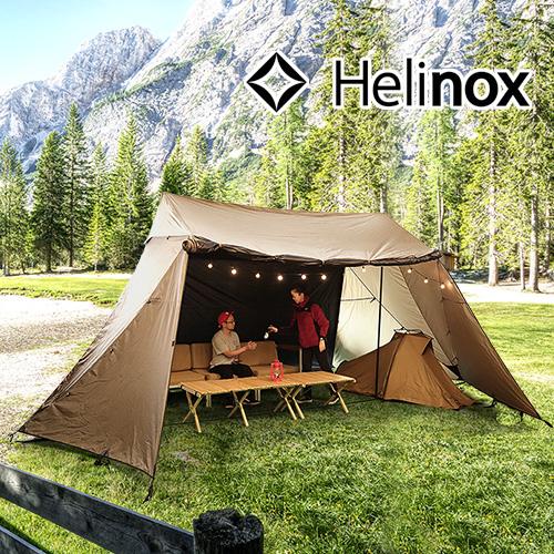 ヘリノックス テント 4人用 日よけ 大型 正規品 送料無料Helinox タクティカル Tac.フィールド6.0コヨーテ アウトドア キャンプ シェルター スクリーンタープ