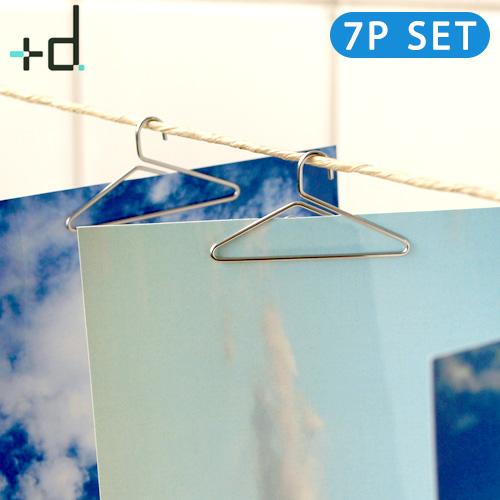ネコポスOK ハンガーの形をしたクリップ カードや写真に 結婚 引越し 新築 開店 新生活 記念日 誕生日 格安SALEスタート 恋人 友人 女性 男性 プレゼントに あす楽14時まで オシャレ雑貨 フォトハンガー h 7ヶセット クリップ 2020新作 デザイン Photohanger plywood 家族へのギフト concept - +d