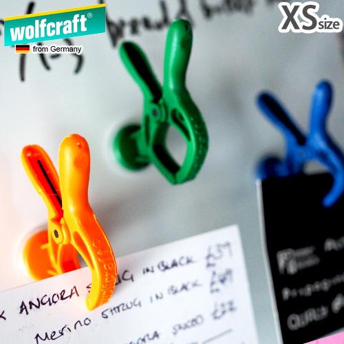 マグネット フック 開催中 強力 メール便OK スプリングクランプマグネット XSサイズ ピンチ ハサミ 磁石 壁 ウォール 収納 MAGNET あす楽14時まで XSフック おしゃれ ポイント消化 洗濯バサミ 最安値に挑戦 SPRING プレゼント CLAMP XSサイズWF メモスタンド wolfcraft
