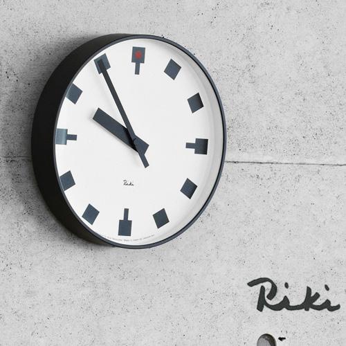 【あす楽14時まで】 送料無料 [ 時計 壁掛け 掛け時計 ] riki watanabe 日比谷の時計 WR12-03 lemnos レムノス 時計 掛け時計 おしゃれ 壁掛け時計 モダン riki clock 【楽ギフ_のし】【smtb-F】 F