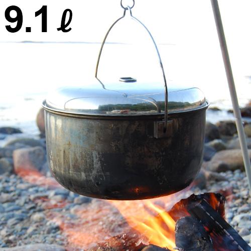 新しい ステンレス キャンプ アウトドア 焚火 鍋 銅 大容量 ステンレス 送料無料【あす楽14時まで】イーグルプロダクツ キャンプファイヤーポットEAGLE Products Campfire Pot 9.1L ST520調理器具 ポット 大容量 おしゃれ おすすめ◇北欧 洗いやすい 焚き火 焚火 F, トヨヒラチョウ:decc8804 --- canoncity.azurewebsites.net