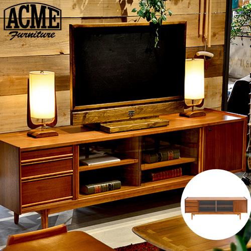 テレビ台テレビボード180ウォールナットローボードアクメファニチャートラッセルテレビボードワイド1800ACMEFurnitureTRESTLESTVBOARDW1800おしゃれ収納TV台家具