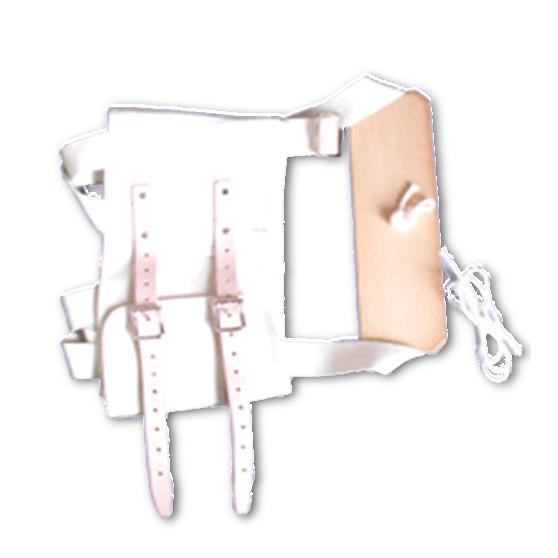 バーゲンセール 現金特価 腰椎牽引用の牽引帯のみの販売です 腰椎牽引吊り下げタイプの牽引時に使用します 腰椎牽引帯板付腰を1本のひもで引っ張るための腰バンド