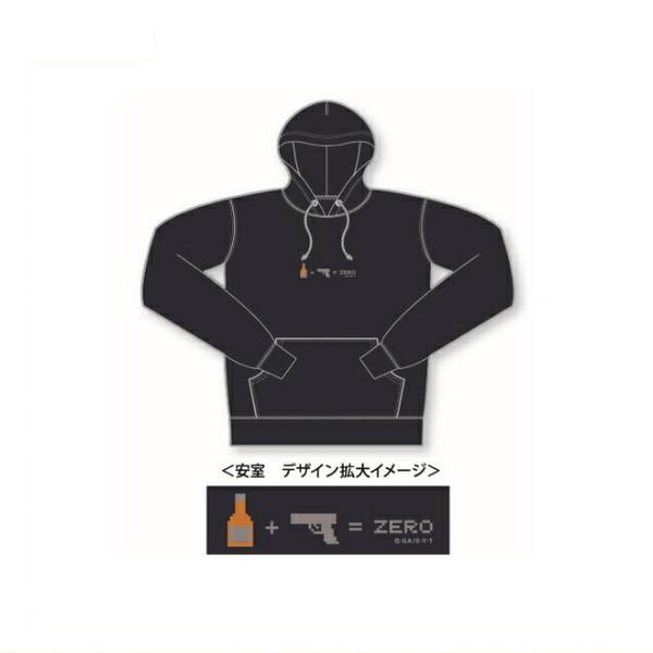 名探偵コナン パーカー Sサイズ(ピクトデザイン 安室)CO-TT204 Detective CONAN