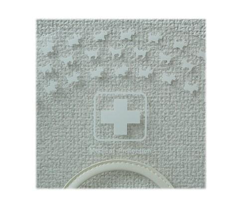 オカモト 安い 激安 プチプラ 高品質 クリアカラー SSソフト ホワイト ワン 送料無料 ニャンプリントがかわいいマジックテープタイプのカラーー エリザベスカラー