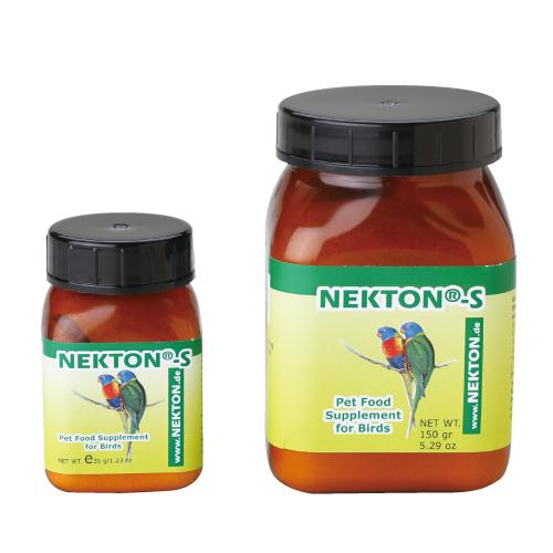 鳥類全種類用の総合ビタミン剤 正規販売店 ネクトン-S 鳥類用総合ビタミン剤 鳥用 注目ブランド 35g