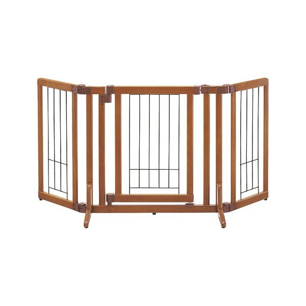 ペット用 木製おくだけドア付ゲート cyg390422