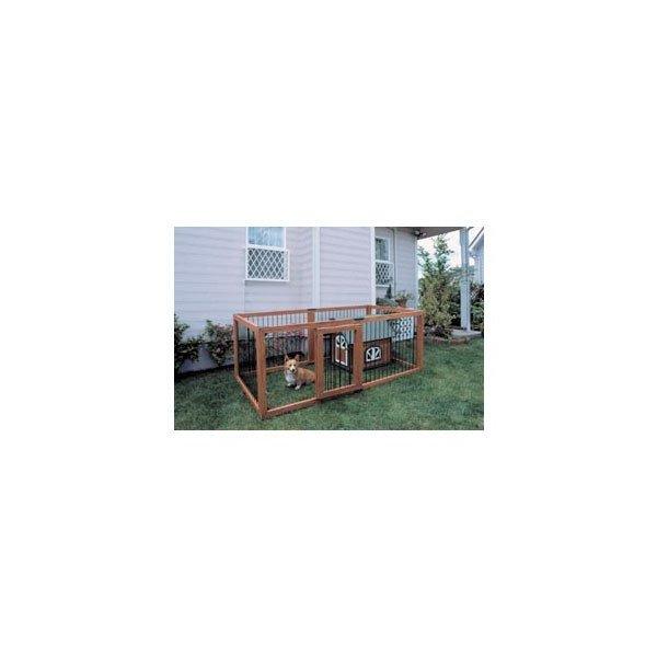 木製ペットサークル6枚セット 240×127×92cm(組立時)