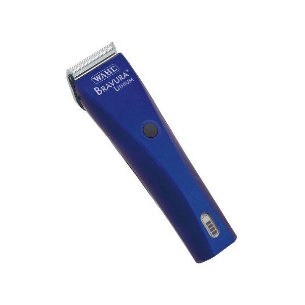 ブラビューラ WAHL カラー: ロイヤルブルー クリッパー コード式・コードレス両用タイプ バリカン 充電式