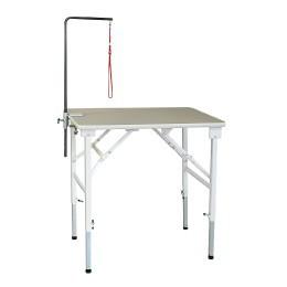 送料無料 折りたたみトリミングテーブル アジャスト Mサイズ(幅75×奥行45×高さ58.5~90cm) TOMTOM トリマー グルーミング 犬 手入れ