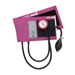 送料無料 ギャフリーアネロイド血圧計 セット(マゼンタ)