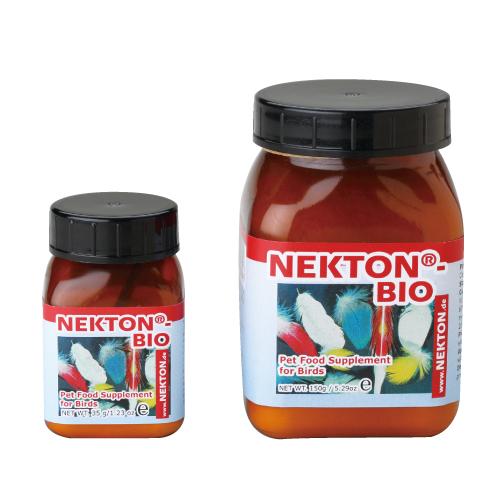 送料無料 ネクトン-BIO 鳥類用ビタミン剤/羽毛発育促進 150g