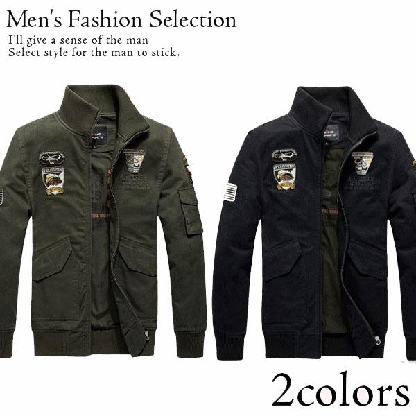 メンズ エアフォースワンアーミージャケット 制服 メンズ ファッションアウトドアスポーツ アウター ストリート アウターウェア 彼氏 男性 Men's