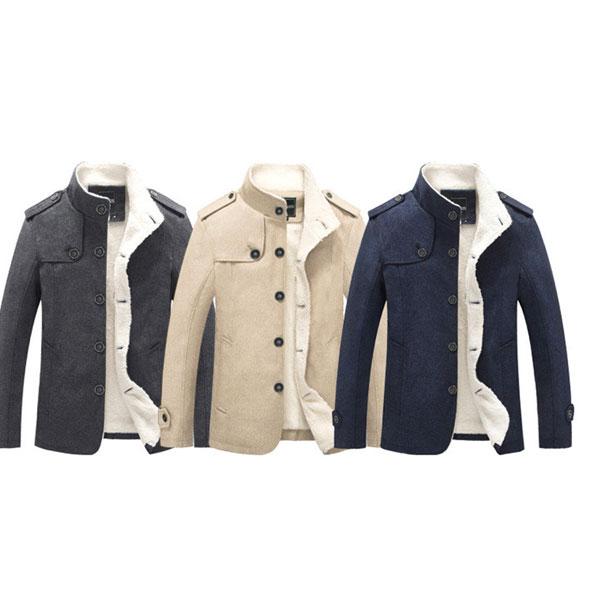 メンズカジュアル デザイン コートジャケット/メンズ スリムフィット ジャケット 冬 秋 カジュアル メンズファッション 極暖 きれい目 彼氏 男性 men's