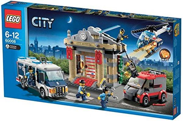 lego city lego city police van thief e mail 60008 02p28sep16 - Lgo City Police