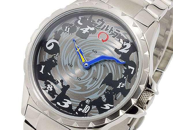 腕時計 メンズ ウルトラQ ジャンピングアワー 自動巻 限定モデル ULTRA-Q シルバー