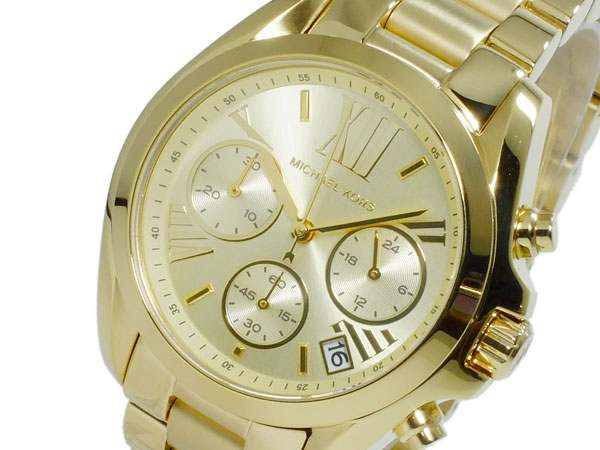 47f2b357cc28 Michael Kors MICHAEL KORS quartz chronograph ladies watch watch watch.  American apparel brand was founded in 1981 by the designer Michael Kors.