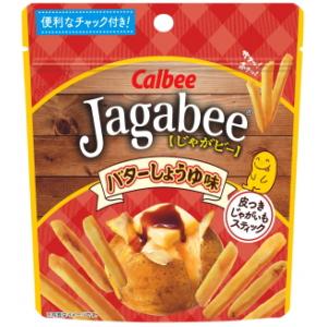 クーポン配布中★カルビー40gJagabee(じゃがビー) バターしょうゆ味(スタンドパウチ)12袋入(ジャガビー)