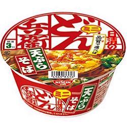 クーポン配布中★日清46g日清のどん兵衛 天ぷらそばミニ (西)12食入