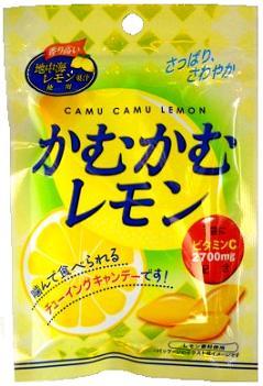 咀嚼三菱食品的咀嚼的柠檬10入