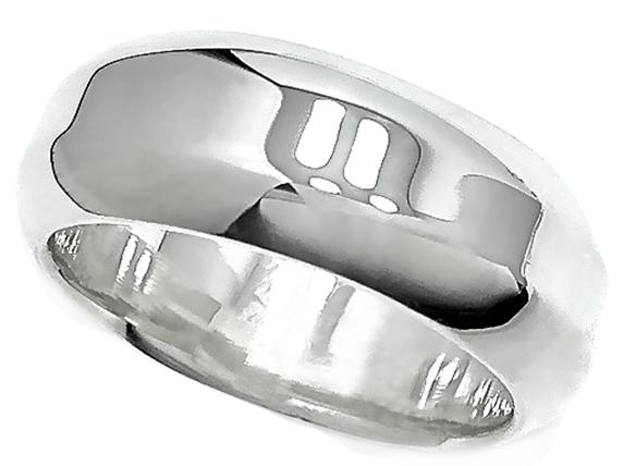 プレーン/シルバーリング/シルバー925/シンプル/銀/指輪/平打ち/柔らかい風合い/品あり/重厚/変形型/ピカピカ・
