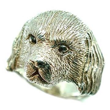 イングリッシュコッカースパニエル/犬/シルバー925/リング/指輪/ドッグ/Dog/ring/犬リング/イヌリング/Silver925