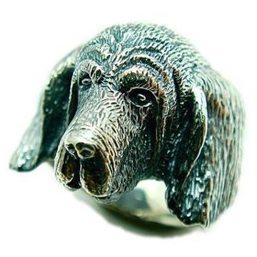 ブラッドハウンド/犬/シルバー925/リング/指輪/ドッグ/Dog/ring/犬リング/イヌリング/Silver925