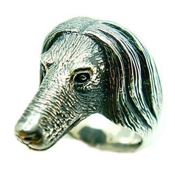アフガンハウンド/犬/シルバー925/リング/指輪/ドッグ/Dog/ring/犬リング/イヌリング/Silver925