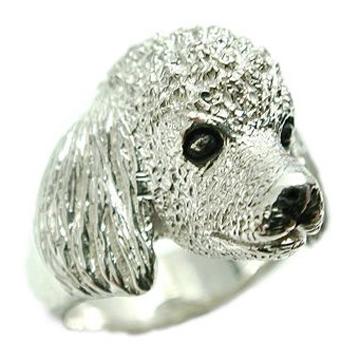 プードル/犬/シルバー925/リング/指輪/ドッグ/Dog/ring/犬リング/イヌリング/Silver925