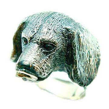 ビーグル/犬/シルバー925/リング/指輪/ドッグ/Dog/ring/犬リング/イヌリング/Silver925