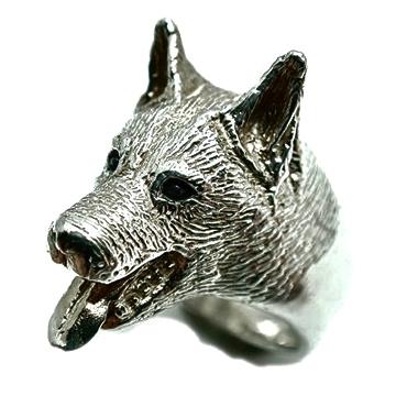 シェパード/犬/シルバー925/リング/指輪/ドッグ/Dog/ring/犬リング/イヌリング/Silver925